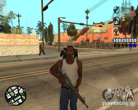 C-HUD La Cosa Nostra для GTA San Andreas