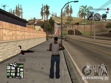 C-HUD Universal v3 для GTA San Andreas второй скриншот