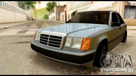 Mercedes-Benz 190E для GTA San Andreas вид справа