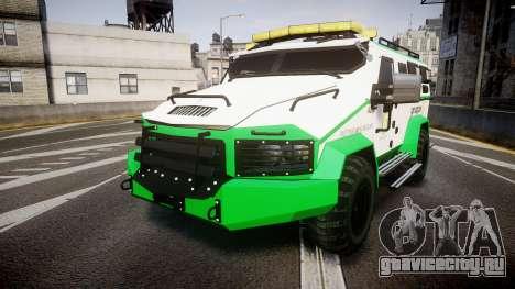 Gruppe6 Van [ELS] для GTA 4