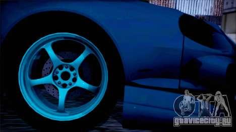 Toyota Сelica для GTA San Andreas вид сзади слева