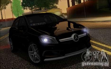 Mercedes-Benz A45 AMG для GTA San Andreas вид сверху