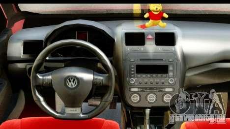 Volkswagen Bora GTI 2011 для GTA San Andreas вид справа