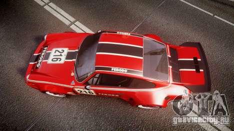 Porsche 911 Carrera RSR 3.0 1974 PJ216 для GTA 4 вид справа