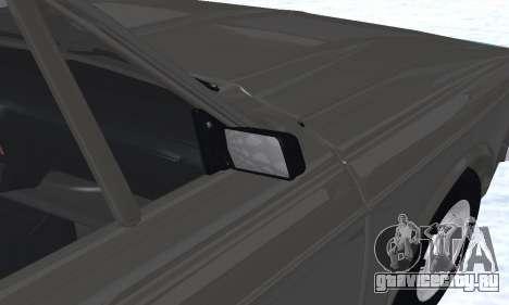 Ikco Peykan Chragh Benzi New для GTA San Andreas двигатель