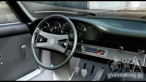 Porsche 911 Carrera 2.7RS Coupe 1973 Tunable для GTA San Andreas вид сзади
