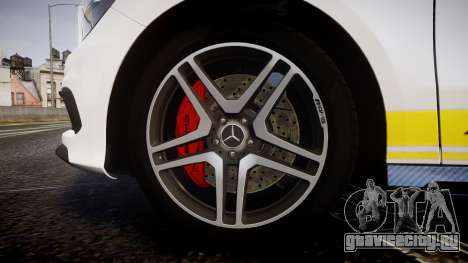 Mersedes-Benz A45 AMG PJs2 для GTA 4 вид сзади