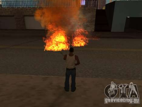 New Realistic Effects 4.0 Full Final Version для GTA San Andreas пятый скриншот