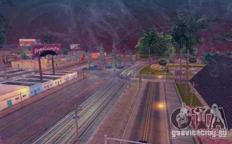ENB by Dvi v 1.0 для GTA San Andreas четвёртый скриншот
