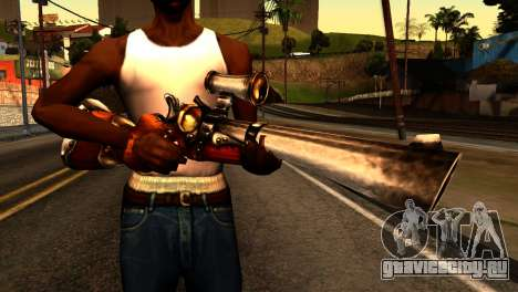 Assault Rifle from Redneck Kentucky для GTA San Andreas третий скриншот
