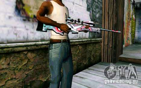 AWP L96А1 (Looney) для GTA San Andreas