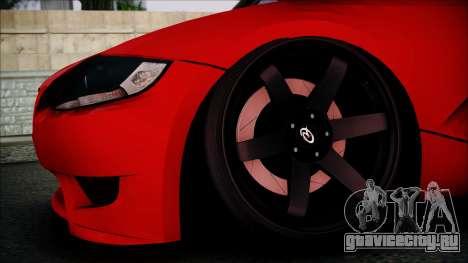 BMW Z4 M85 для GTA San Andreas вид справа