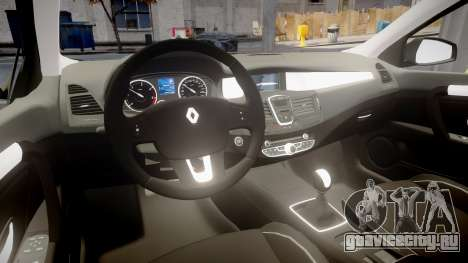 Renault Laguna III 2007 для GTA 4 вид сзади