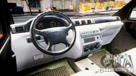 УАЗ 23602-050 metal для GTA 4 вид справа