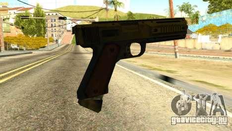 AP Pistol from GTA 5 для GTA San Andreas второй скриншот