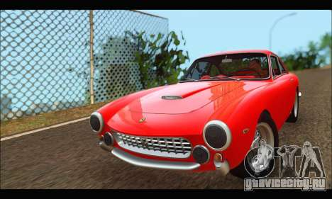 Ferrari 250 GT Berlinetta Lusso 1962 (HQLM) для GTA San Andreas
