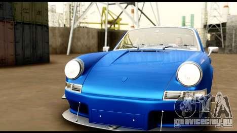 Porsche 911 Carrera 2.7RS Coupe 1973 Tunable для GTA San Andreas салон