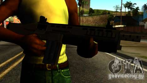Bullpup Shotgun from GTA 5 для GTA San Andreas третий скриншот