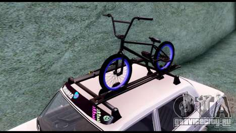 ВАЗ 2103 Retro для GTA San Andreas вид сзади