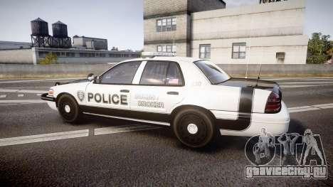 Ford Crown Victoria Sheriff Dukes [ELS] для GTA 4 вид слева