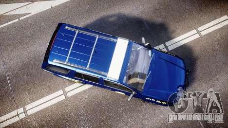 Chevrolet Trailblazer Virginia State Police ELS для GTA 4 вид справа