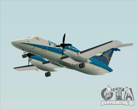 Embraer EMB 120 Brasilia Embraer Livery для GTA San Andreas вид сзади слева