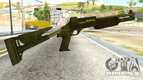 Shotgun from Global Ops: Commando Libya для GTA San Andreas второй скриншот