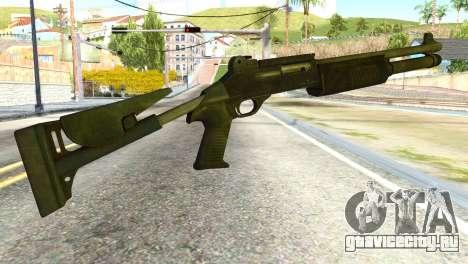 Shotgun from Global Ops: Commando Libya для GTA San Andreas второй скриншот