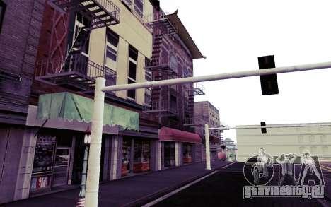 Instagram ENB v1.02 для GTA San Andreas седьмой скриншот