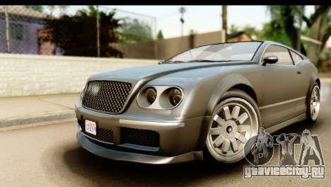 GTA 5 Enus Cognoscenti Cabrio SA Mobile для GTA San Andreas