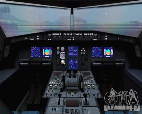 Airbus A330-300 Aeroflot - Russian Airlines для GTA San Andreas вид сзади