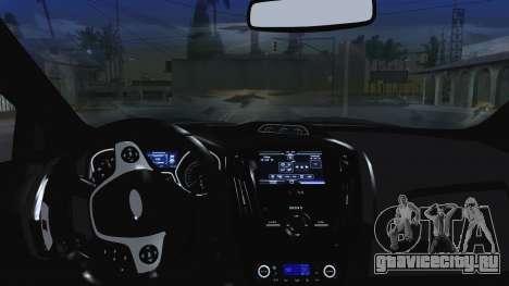 Ford Focus ST 2013 для GTA San Andreas вид сверху