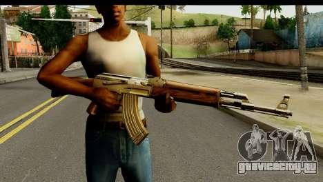 New AK47 для GTA San Andreas третий скриншот