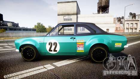 Ford Escort RS1600 PJ22 для GTA 4 вид слева