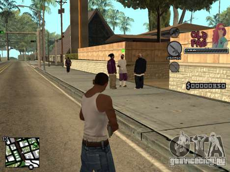 C-HUD Universal v2 для GTA San Andreas третий скриншот