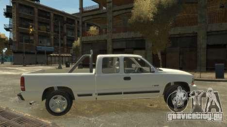 Chevrolet Silverado 1500 для GTA 4 вид слева