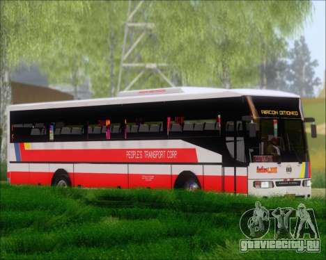 Nissan Diesel UD Peoples Transport Corporation для GTA San Andreas вид слева