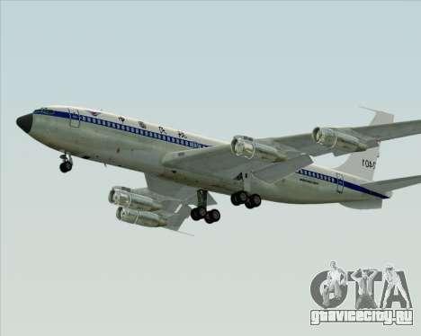 Boeing 707-300 CAAC для GTA San Andreas вид сзади слева