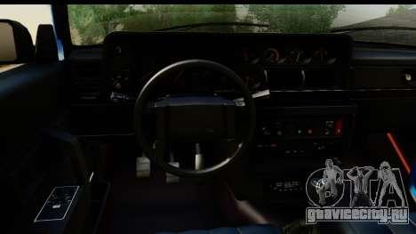 Volvo 242 Cabrio для GTA San Andreas вид сзади