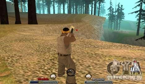C-HUD Yeah для GTA San Andreas