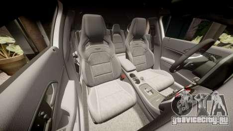 Mersedes-Benz A45 AMG PJs3 для GTA 4 вид сверху