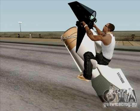 Air bike для GTA San Andreas вид изнутри