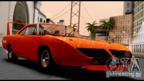 Plymouth Roadrunner Superbird RM23 1970 HQLM для GTA San Andreas