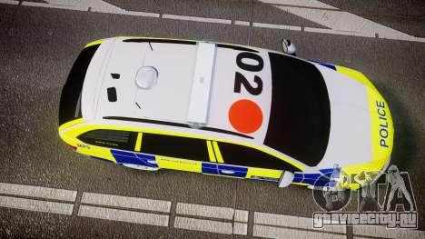 Skoda Octavia Combi vRS 2014 [ELS] Traffic Unit для GTA 4 вид справа