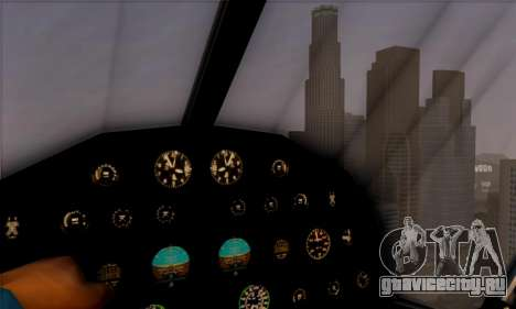 Swift GTA 5 для GTA San Andreas вид сзади