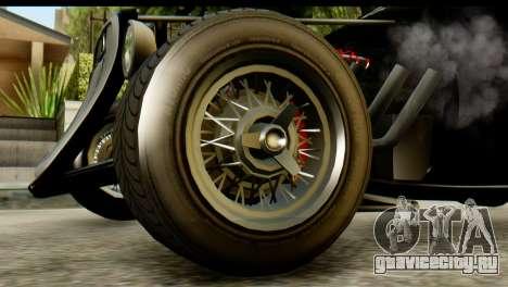 GTA 5 Hotknife IVF для GTA San Andreas вид сзади слева