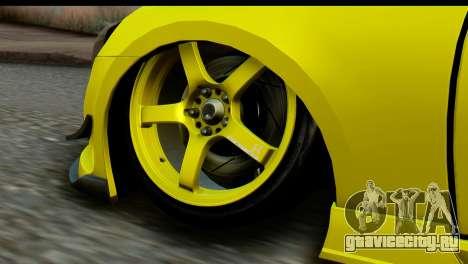 Subaru BRZ 2013 для GTA San Andreas вид сзади слева