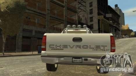 Chevrolet Silverado 1500 для GTA 4 вид справа