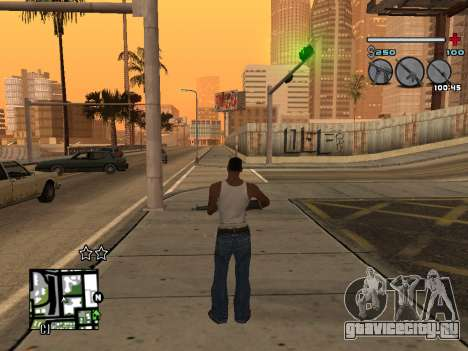 C-HUD Universal v3 для GTA San Andreas четвёртый скриншот