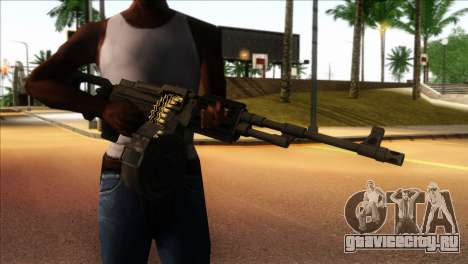 RPK from Kuma War для GTA San Andreas третий скриншот